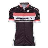 FIBRA Elite Bike SS Jersey W Sort S Sykkeltrøye i pustende stretch