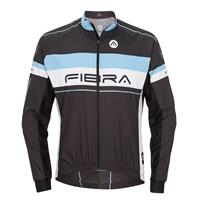 FIBRA Elite Bike Wind Jacket jr Sort 140 Vindtett sykkeljakke