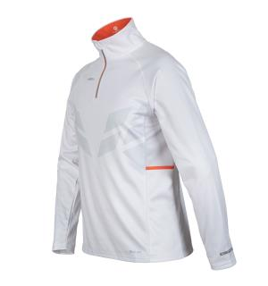 FIBRA Sync Half Zip Jr Hvit 128 Komfortabel Half Zip til junior